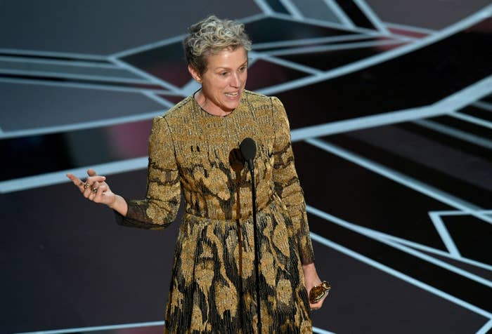 While the rider has not been formally drawn out, many actors have expressed interest to Smith in adding it to their future contracts after Frances McDormand gave it a shout-out in her 2018 Oscars speech.