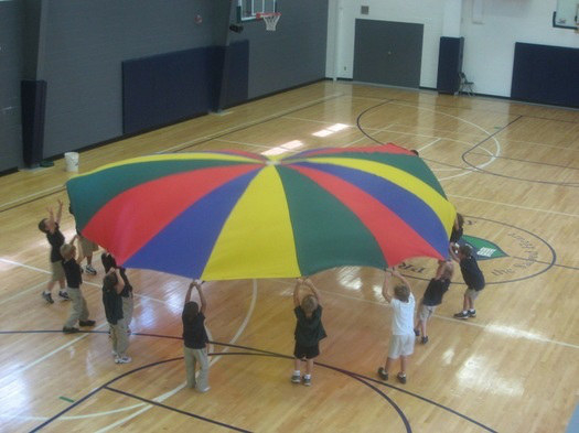 A better way to spend a rainy day during P.E.: