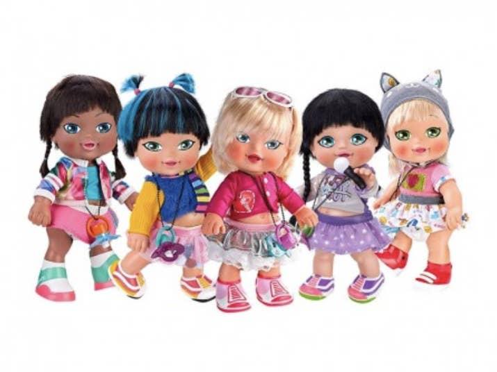 Eran unos muñecos de bebé que intentaban comportarse como adultos, igual que yo desde que cumplí los 18.