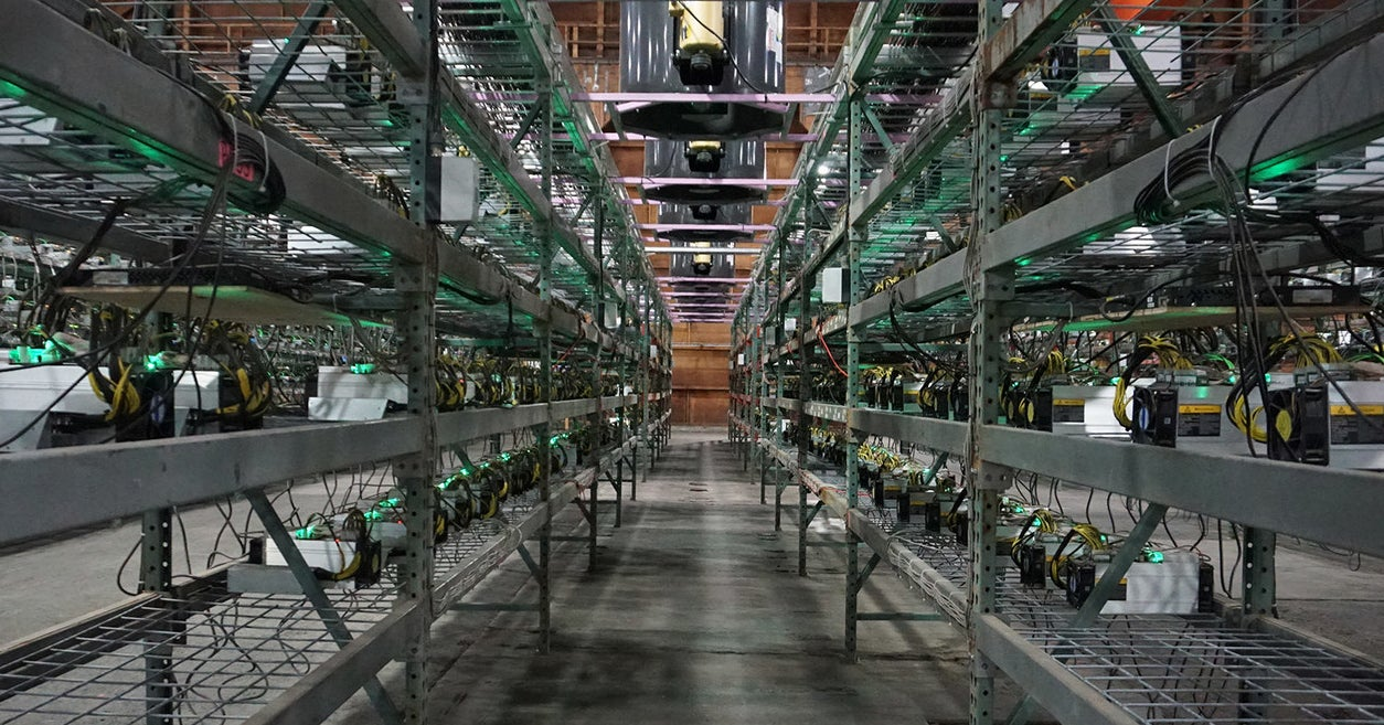 Crypto Gold Rush As Mines Pop Up Across Mountain West