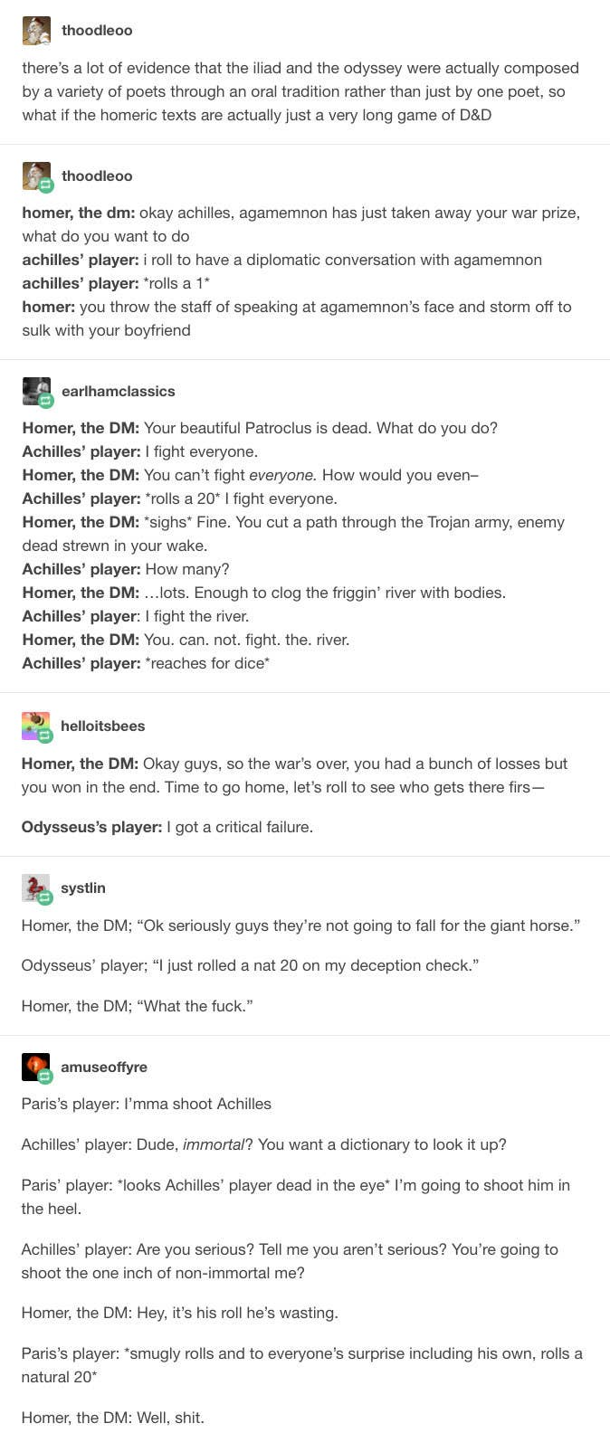 16 Tumblr Posts About Dungeons And Dragons That Rolled A