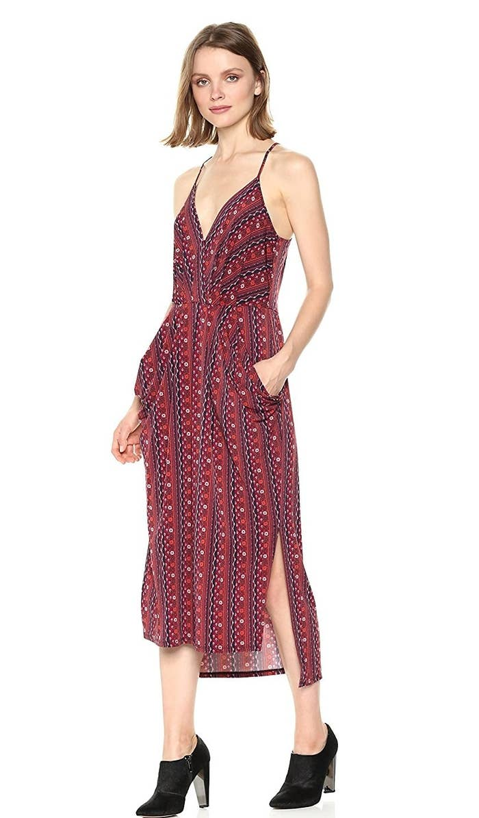 70571c333b7 A drapey BCBGeneration slip that ll be cute on its own on warm days and  equally fabulous layered over a slim turtleneck when it s chilly (what can I  say