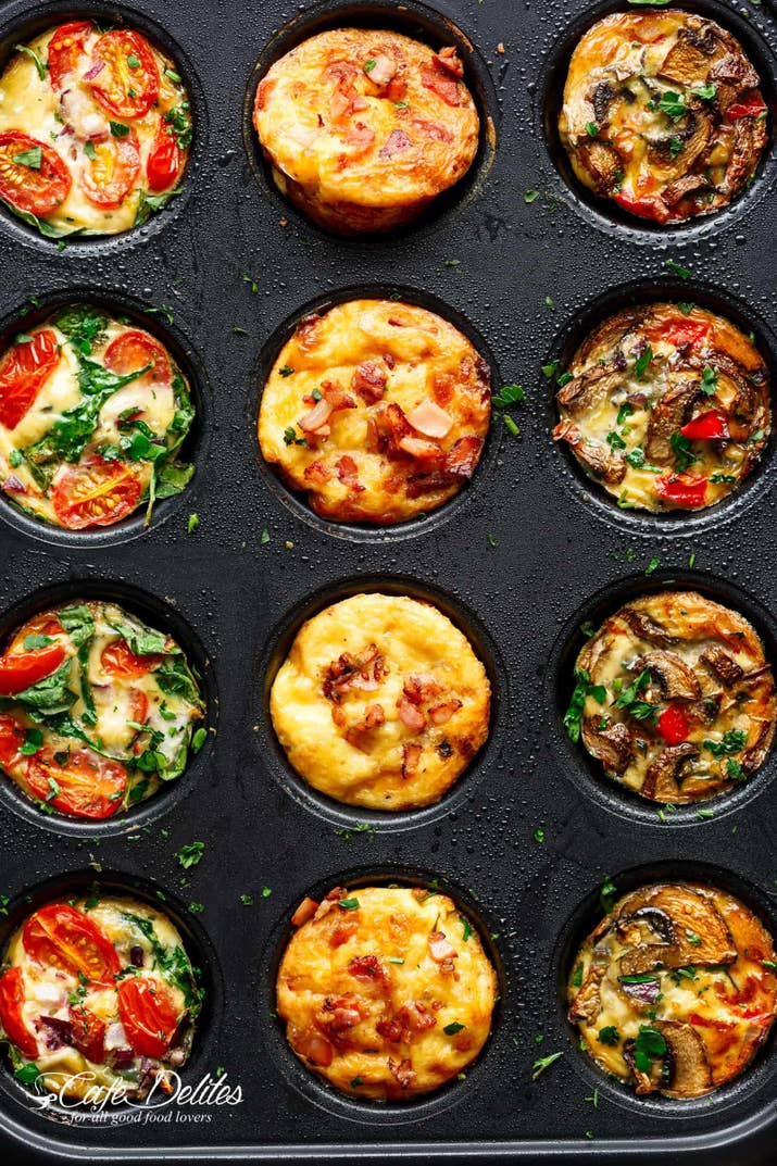 22 easy ways to never skip breakfast again 18 whip up some savory egg muffins thatll keep breakfast conquered all week long forumfinder Images