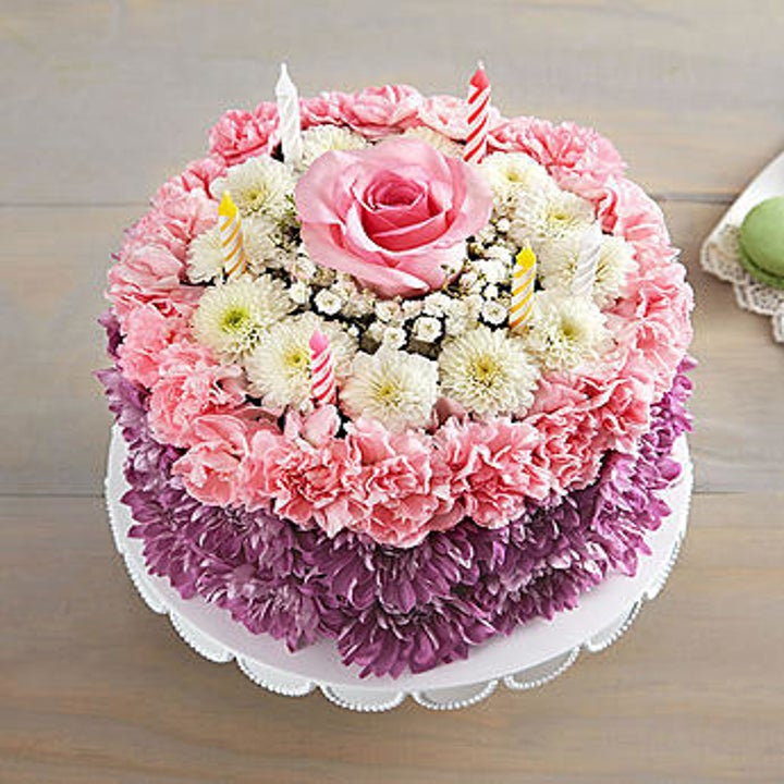 Birthday Wishes Flower Cake Pastel: 21 Things You Can Get From 1-800-Flowers That Aren't Just