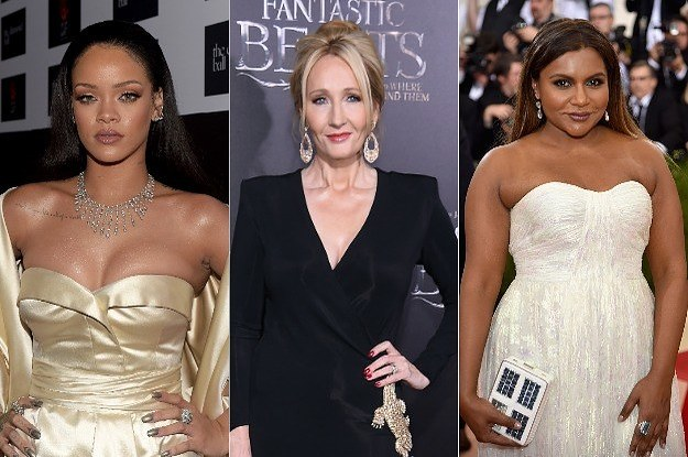 inspirational female celebrities 2018