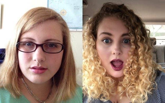 「今までずっと、ヘアアイロンでストレートにしてたから、髪のダメージがひどかったの。でも4年前から、ナチュラルなカールのままにしておくようになって。そしたら、見違えるように生き生きとした髪を取り戻すことができたの!やっぱり自然体が一番! —jennyd46a7d7cb3