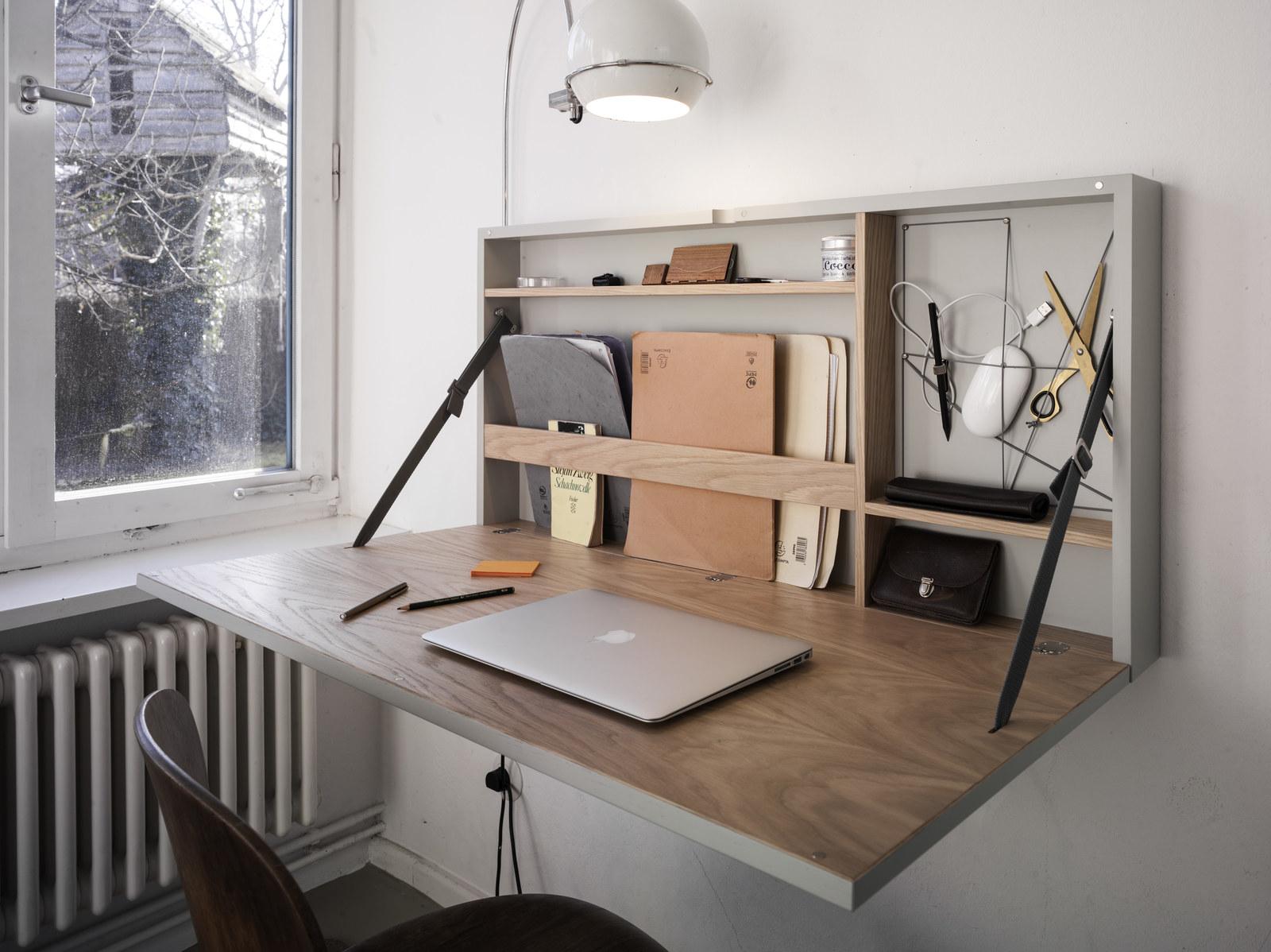 Hochwertig 9. Wie Oft Sitzt Du Wirklich Am Schreibtisch? Wie Wäre Es Mit Dieser Super  Eleganten Klapp Lösung?