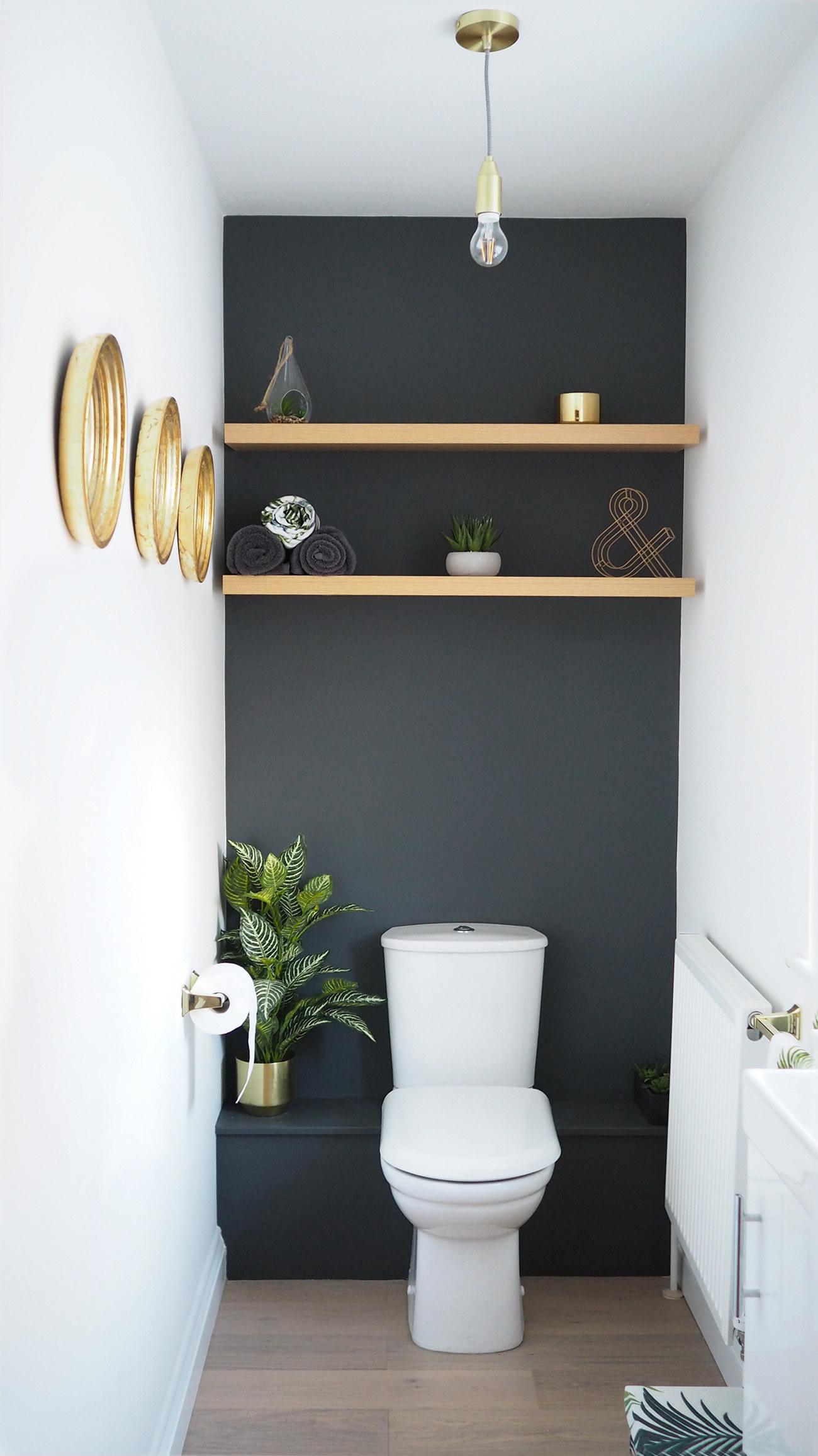 Eine Farbige Wand Schafft Einen Fixpunkt, Der Den Kleinsten Raum Viel  Größer Macht: