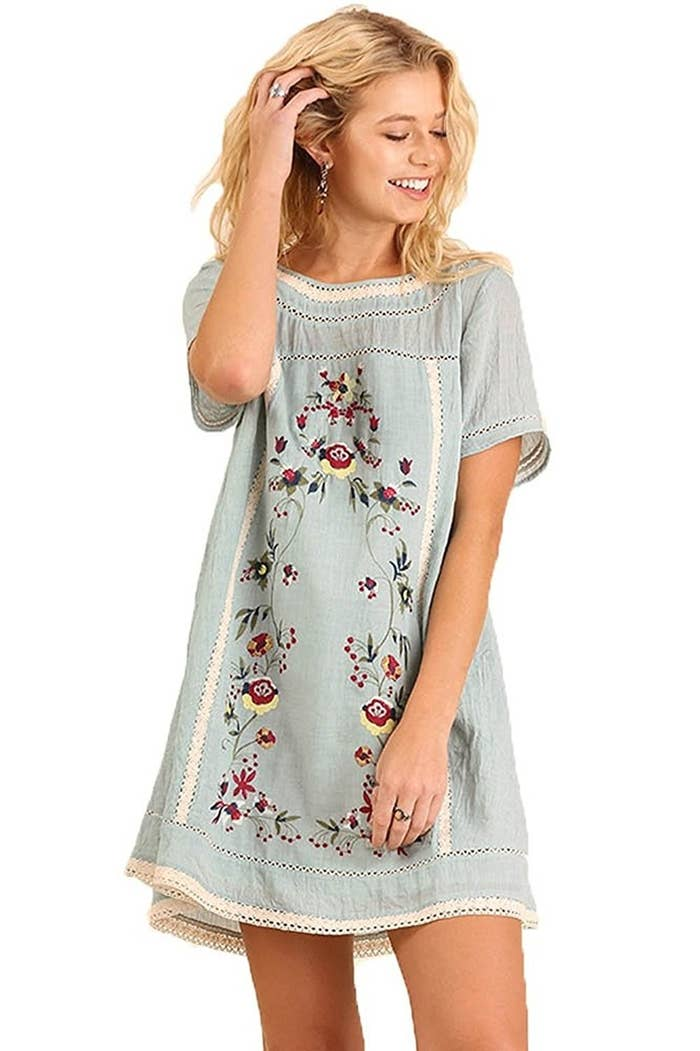 45f6040e39066 Promising review   quot This dress is adorable. It  x27 s great