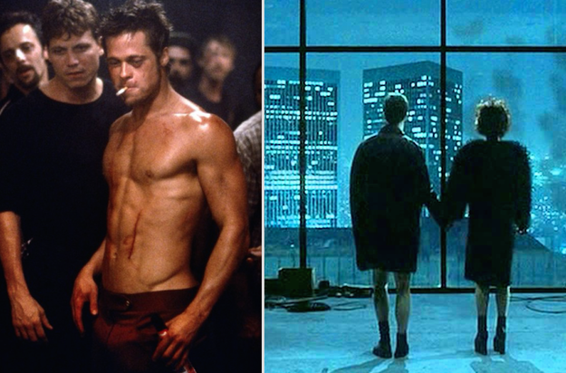 In Fight Club, when Tyler Durden turned out to be a figment of The Narrator's imagination.