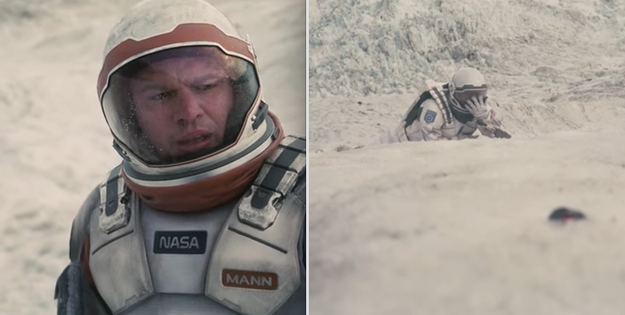 In Interstellar, when Mann lied about his planet's inability to support human life, and he tried to kill Cooper to cover his tracks.