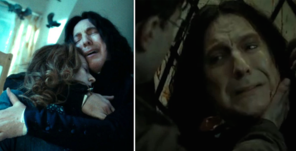 In the Harry Potter series, when Harry learned that Snape was actually protecting him from Voldemort the whole time.