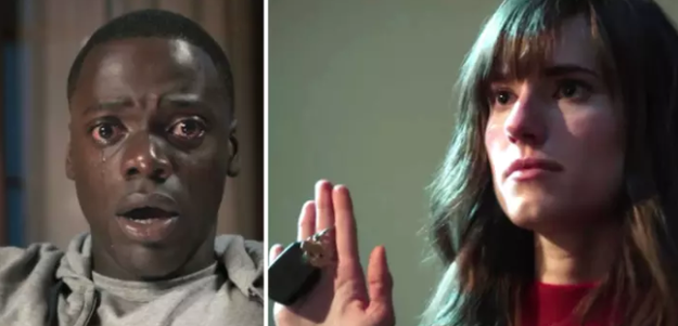 In Get Out, when Rose refused to give Chris the keys, and he figured out what exactly was going on.
