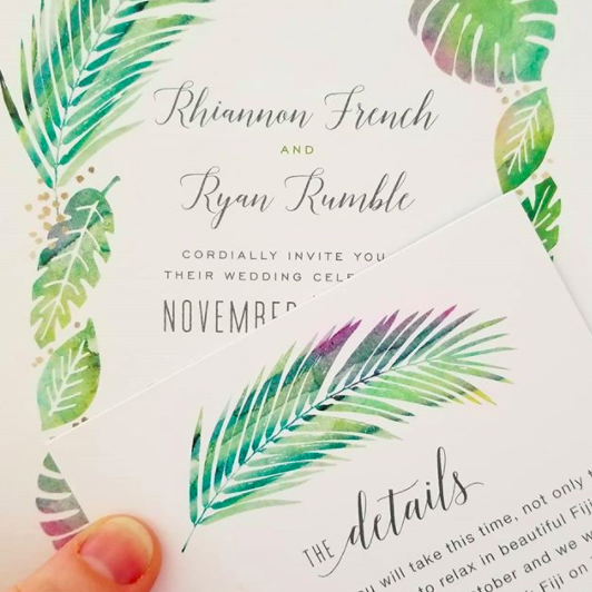 If you don't want to add plus ones, be sure to make sure your guests's invites only have their name on it.