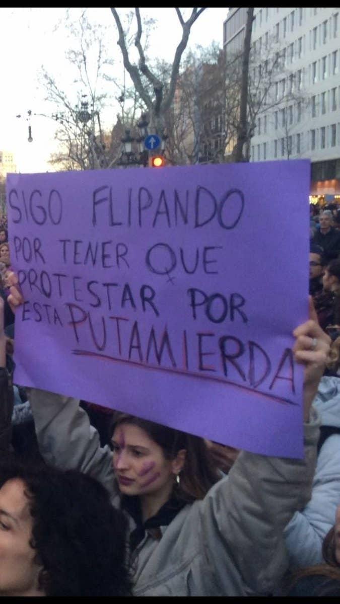 47 Carteles De La Manifestación Feminista Del 8m Que Son