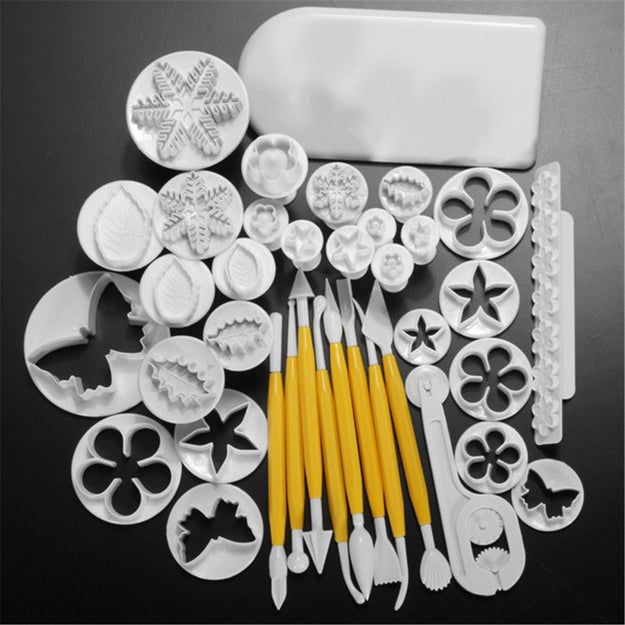A 37-piece fondant molding set for taking your fondant game from 0 to 100 real fast.