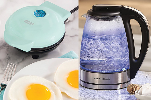 22 Small Kitchen Appliances You'll Actually Want To Use on kitchen appliances equipment toools, kitchen stoves and ovens, kitchen designs with black appliances,