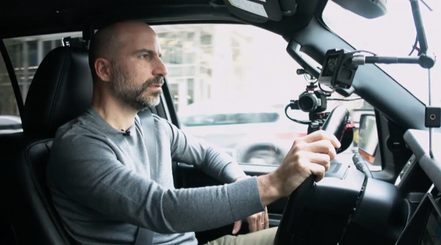 """I was supremely over-confident going into this thing,"" Uber CEO Dara Khosrowshahi said."