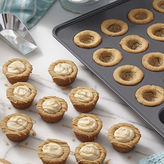 A mini muffin tin to bake bite-sized versions of your fave noms, 48 of them to be exact.