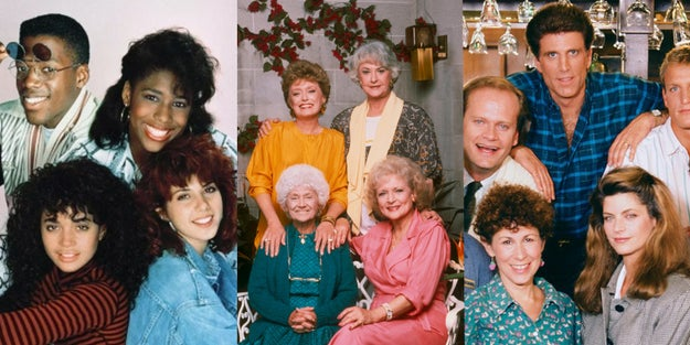 NBC dominated TV with A Different World, The Golden Girls, and Cheers — which were among the top five shows.