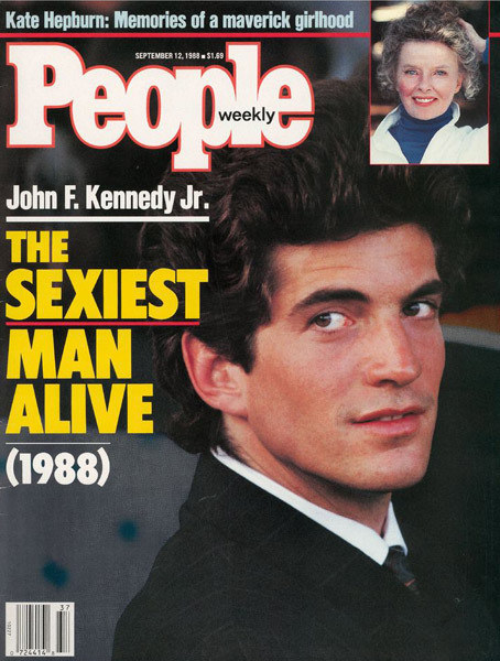 "JFK Jr. was named People magazine's ""Sexiest Man Alive."""