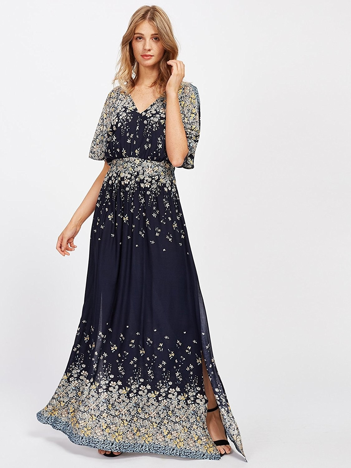 3710c1a0427 A flowy boho dress perfect for all your semi-formal events