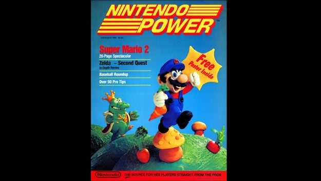 ...and also its own magazine, Nintendo Power.