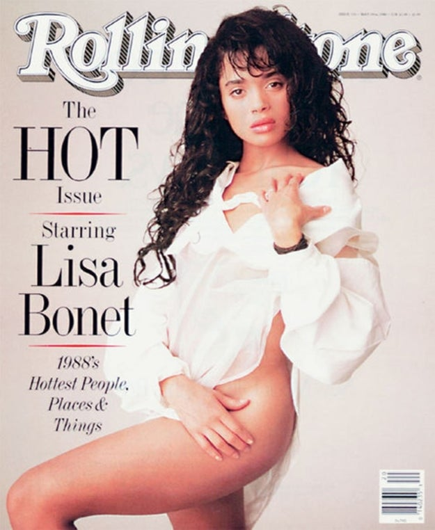"Lisa Bonet appeared on Rolling Stone's ""The Hot Issue."""