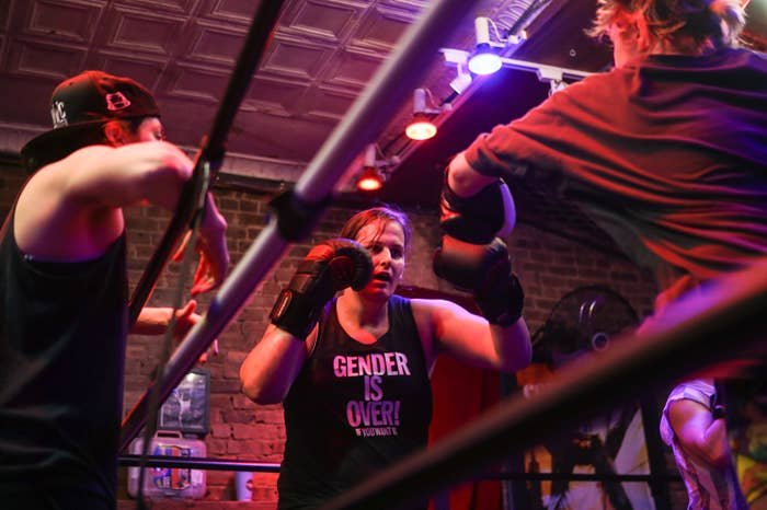 This Boxing Club Helps Trans People Embrace Their Bodies