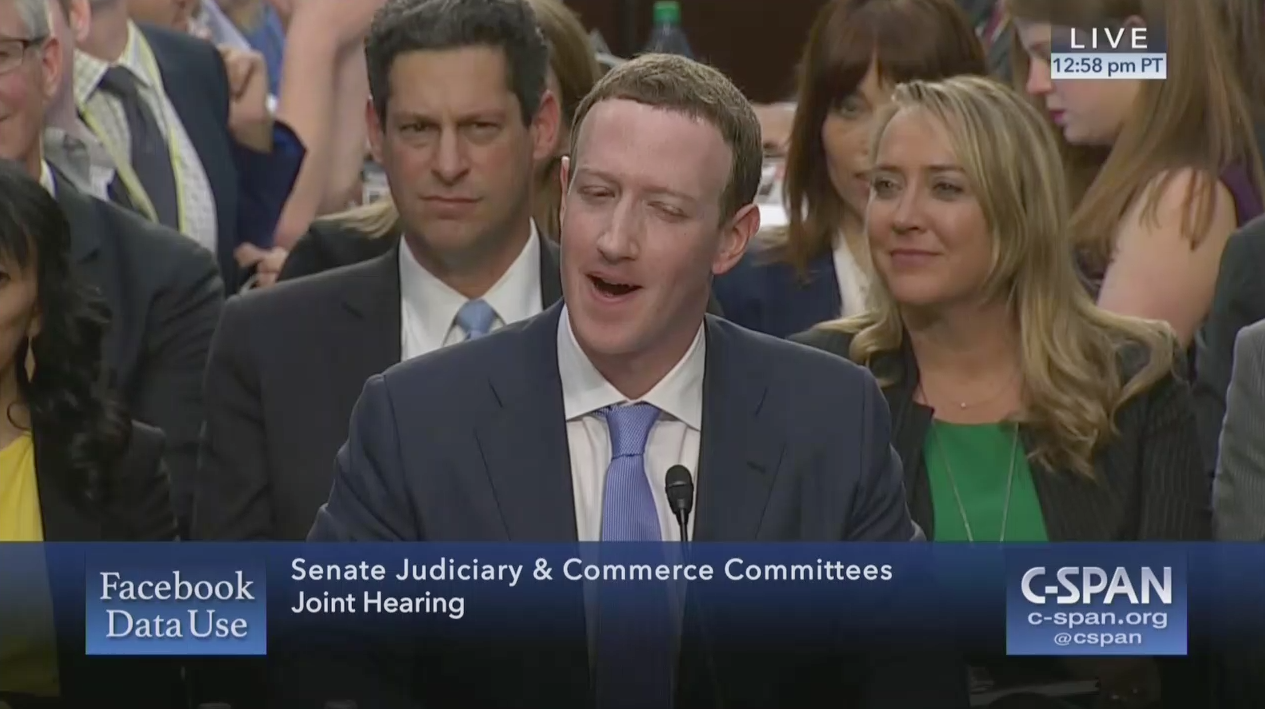 Senator leaves Mark Zuckerberg completely flummoxed with question about his hotel arrangements