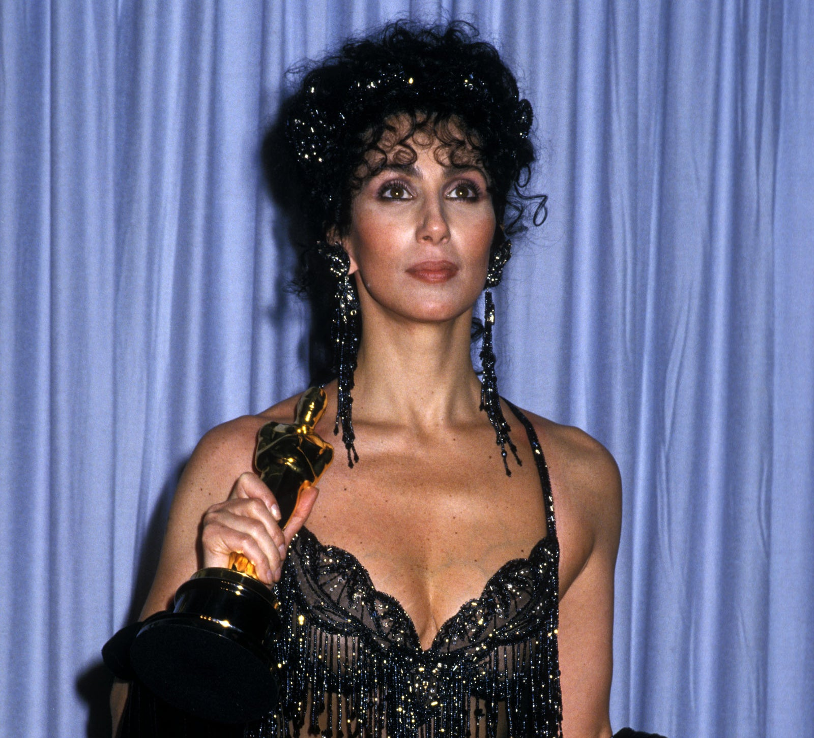 Cher won the Oscar for Best Actress for her role in Moonstruck.