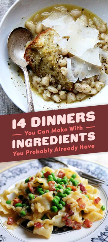 14 legitimately easy dinners made with pantry staples hannah wongbuzzfeed forumfinder Choice Image