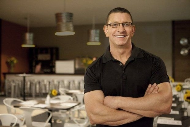 Restaurant: Impossible host Robert Irvine once paid six months of rent for a restaurant owner whose house was being foreclosed.