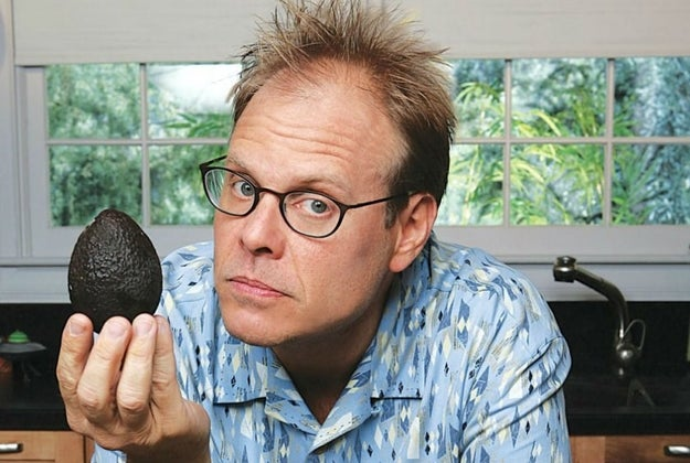 Alton Brown's very first time on camera was for the pilot of Good Eats.