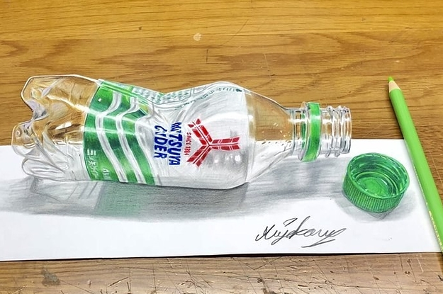 Someone Needs To Convince Me This Picture Of A Bottle Isn't Real