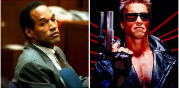 "O.J. Simpson was almost cast as the Terminator, but James Cameron thought he was ""too pleasant"" to portray a dark character."