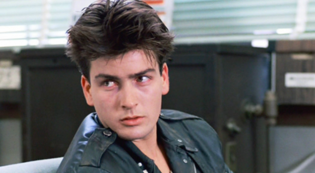 "For his role as a drug addict in Ferris Bueller's Day Off, Charlie Sheen stayed awake for 48 hours straight to achieve an ""authentic look."""