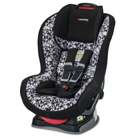 The comfort and safety of your child while traveling is of the utmost importance. The stylish Essentials by Britax Allegiance Convertible Car Seat can be used as a rear-facing seat for infants and also be turned around to be used as a comfy forward-facing seat for toddlers.