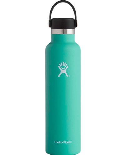 652649c139 This mint standard mouth Hydro Flask is gorge. There are also tons of wide  mouth options.