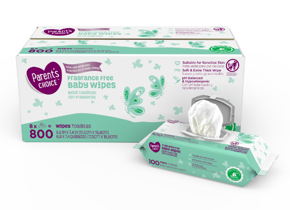 Just like diapers, it's crazy how quickly baby wipes are gone through when you have a baby to care for! These hypoallergenic wipes are made of 100% plant-based material and conveniently sold in your choice of count!