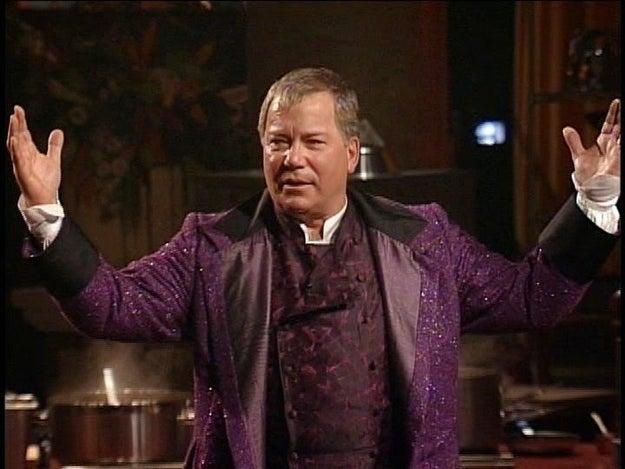 William Shatner was originally the Iron Chef host.