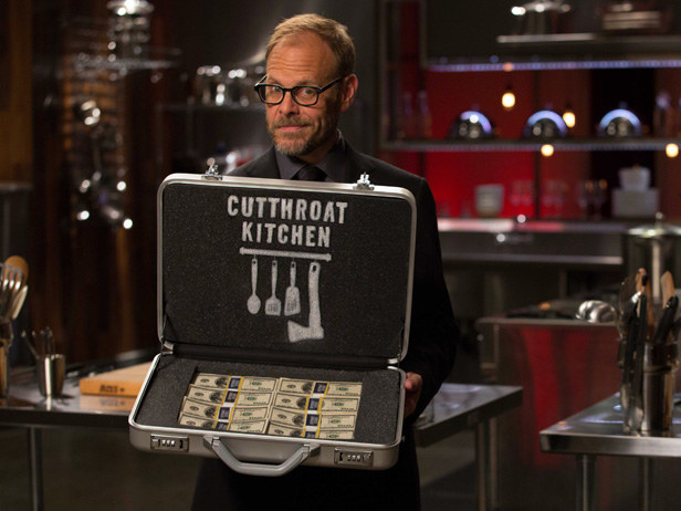 There is a lawyer on the set of Cutthroat Kitchen to ensure that the game is real.