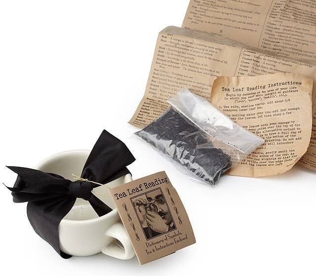 1 A Tea Leaf Reading Kit To Spur On New Hobby Or Party Trick