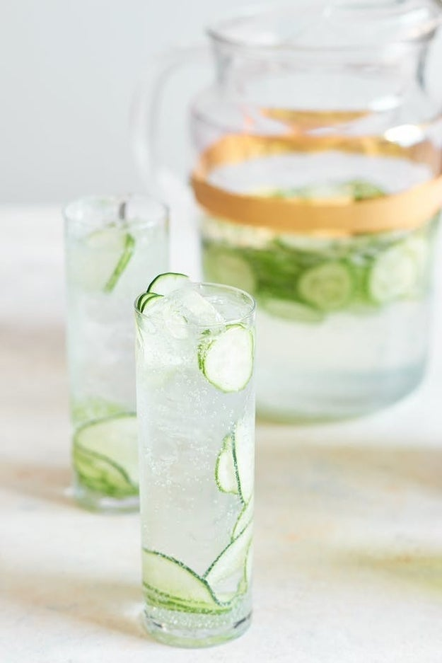 Cucumber Gin & Tonic Pitchers