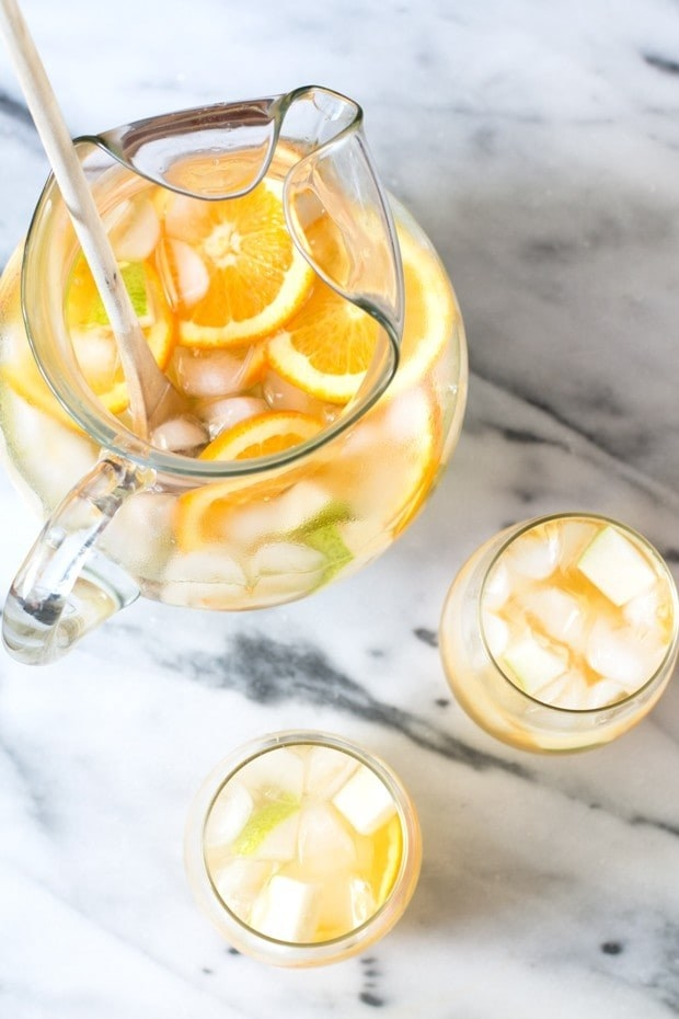 Pear Ginger Sangria