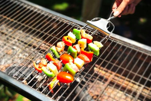 A kabob set so your skewers will be on point.