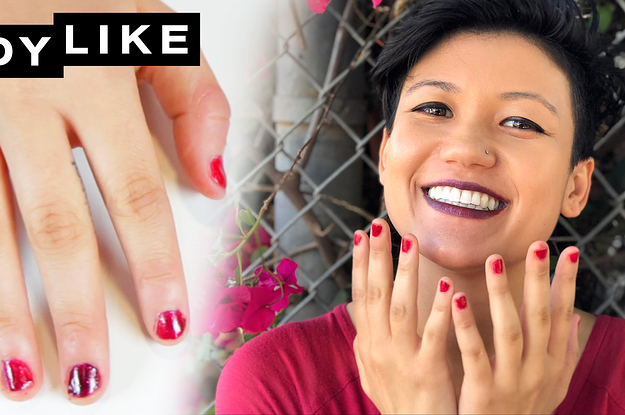 www.buzzfeed.com: We Matched Our Looks To Our Color-Changing Nail Polish