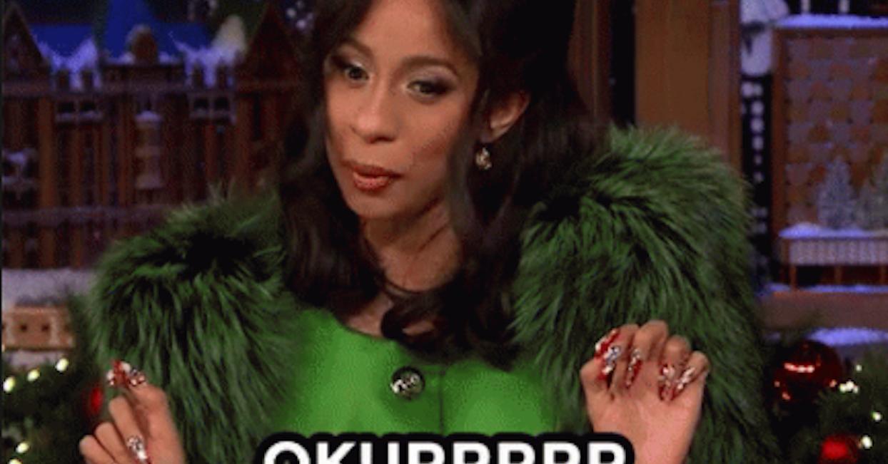 """Cardi B Okrrr: Cardi B Explained What """"Okurrr"""" Means So Now You Can Go"""