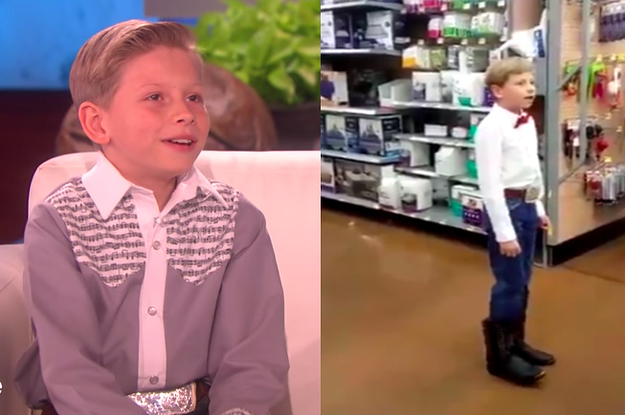 b903a7ea2 The Walmart Yodeling Kid Everyone Is In Love With Said That He's Performed  In Walmart