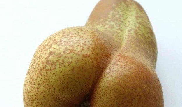 Now that's a good looking pear.